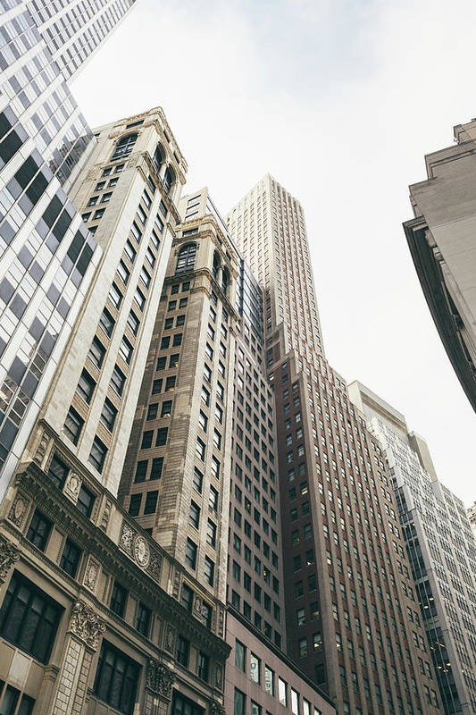 Tranquility Art Print featuring the photograph Financial District, New York City by Tuan Tran