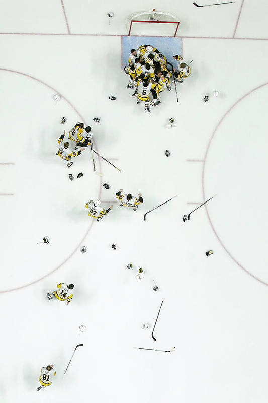 Playoffs Art Print featuring the photograph Nhl Jun 11 Stanley Cup Finals Game 6 - by Icon Sportswire