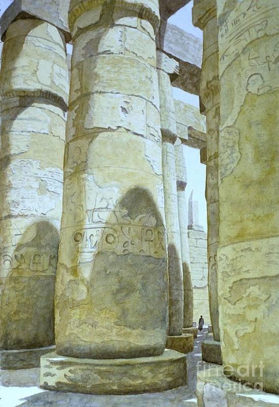 Temple Of Amun by Gordon J Weber