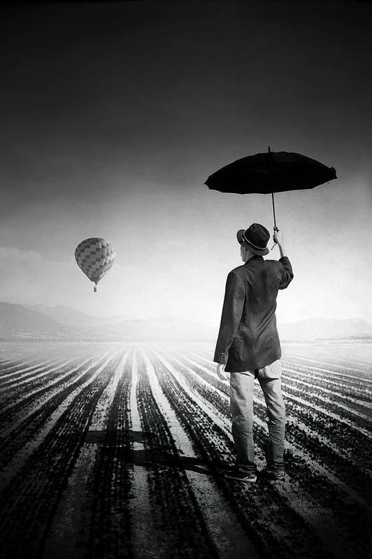 Shadow Art Print featuring the photograph Where Oblivion Dwells by Saul Landell / Mex