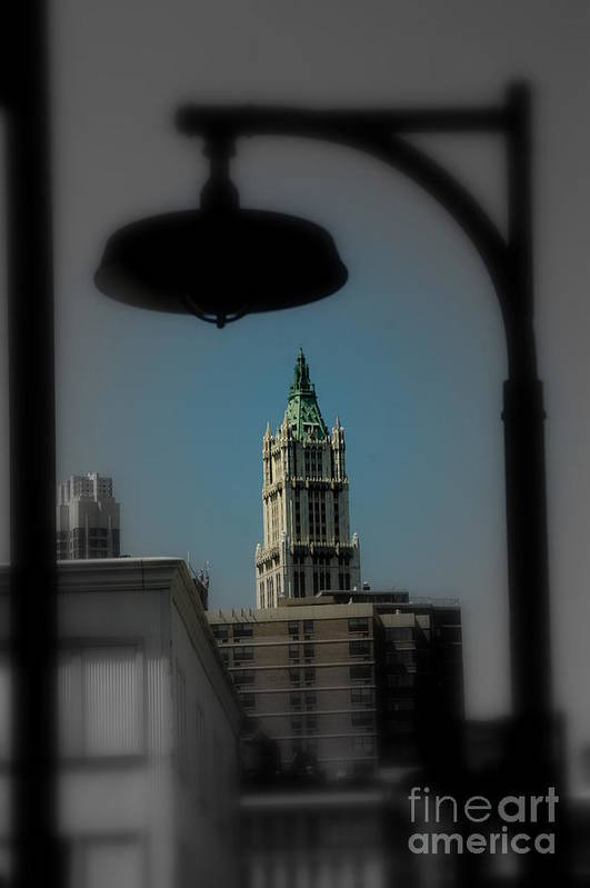 Digital Designs Art Print featuring the photograph Woolworth Building by Mark Gilman