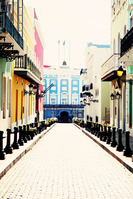 San Juan Art Print featuring the photograph Old San Juan Puerto Rico by Kim Fearheiley