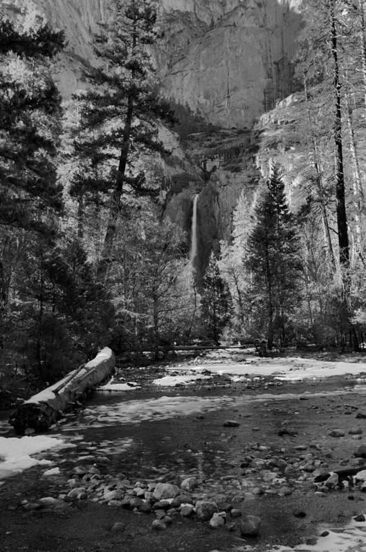Yosemite Art Print featuring the photograph Lower Yosemite Falls by Stephen Vecchiotti