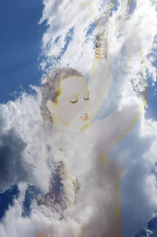 Nymph Art Print featuring the photograph Cloud Dancer by Richard Henne