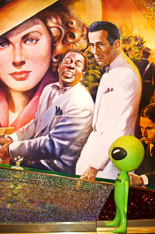 Casablanca Art Print featuring the photograph Everybody Really Does Go To Rick's by Richard Henne
