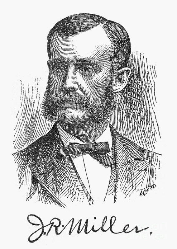 19th Century Art Print featuring the photograph James Russell Miller by Granger