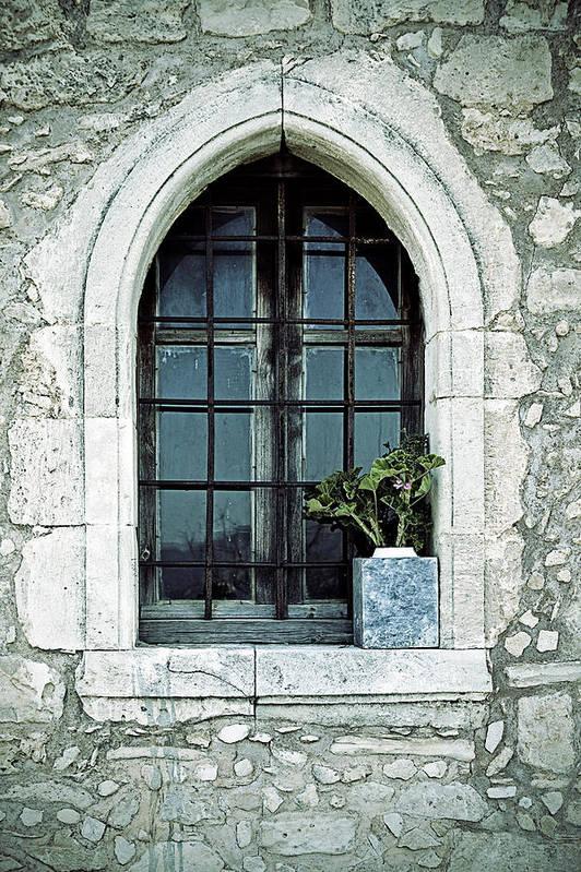 Windows Art Print featuring the photograph Window Of A Chapel by Joana Kruse