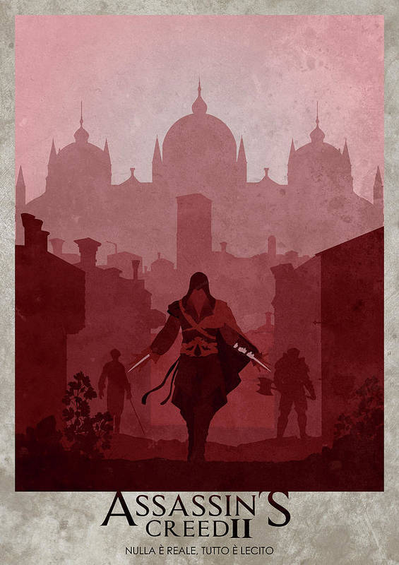 Assassin S Creed Ii Art Print By Ryan Swannick
