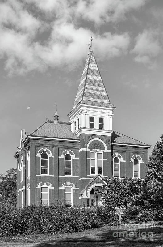 Auburn University Art Print featuring the photograph Auburn University Hargis Hall by University Icons