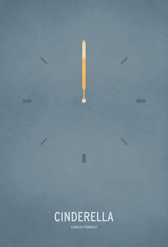 Stories Art Print featuring the digital art Cinderella by Christian Jackson