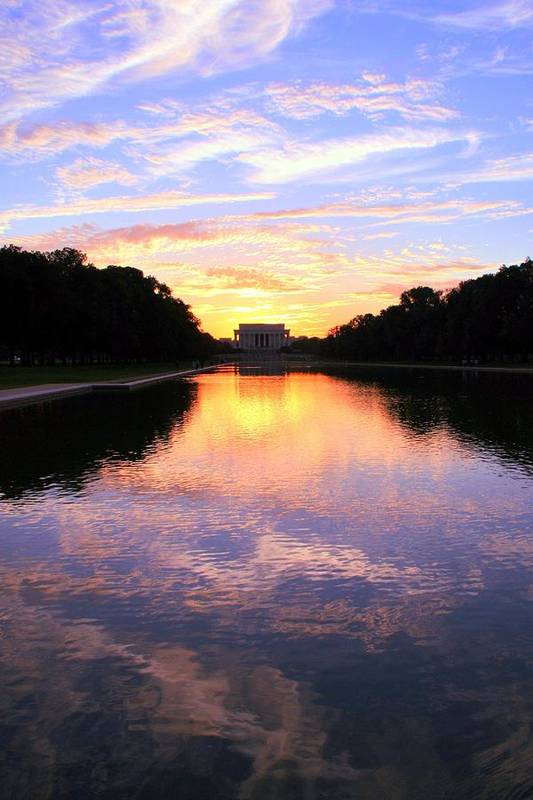 Washington D.c. Art Print featuring the photograph Dream by Mitch Cat