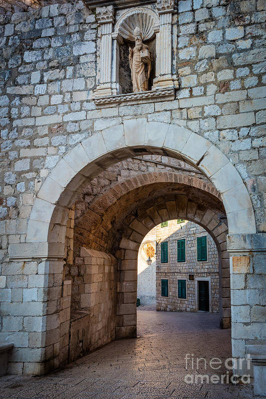 Dubrovnik Entrance by Inge Johnsson
