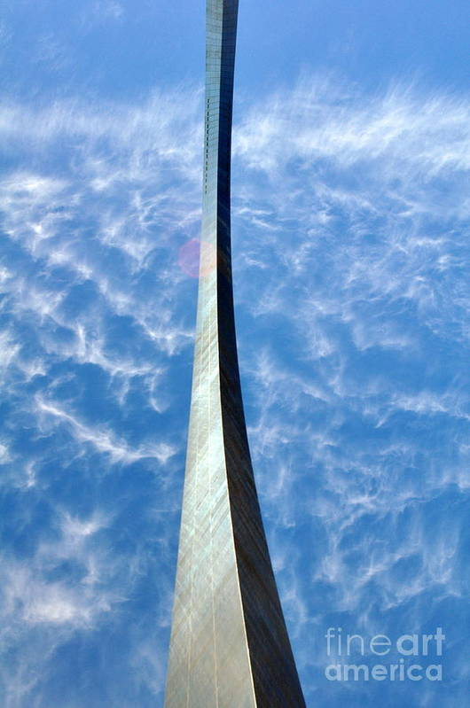 Gateway Arch Art Print featuring the photograph Gateway Arch 4 by Marty Koch