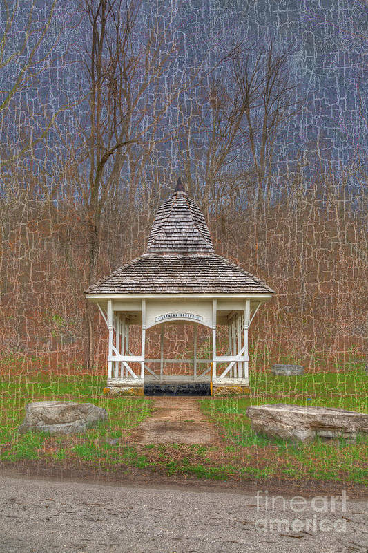 Hdr Art Print featuring the photograph Lithium Spring by Larry Braun