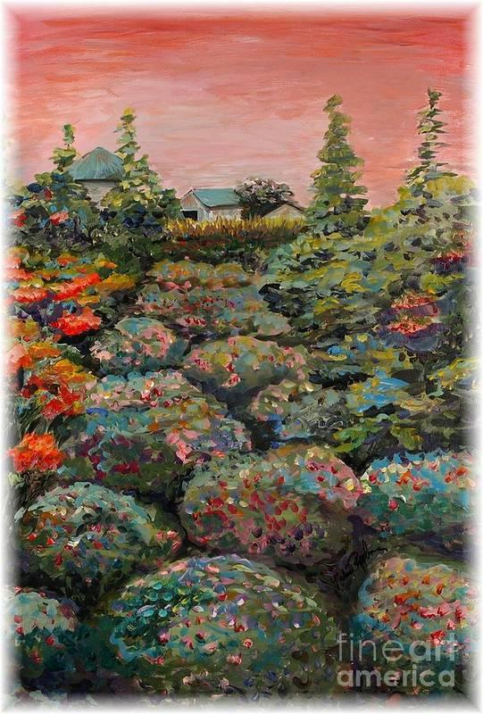 Minnesota Art Print featuring the painting Minnesota Memories by Nadine Rippelmeyer