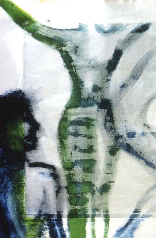 Figure Art Print featuring the painting Rise by Ingrid Torjesen