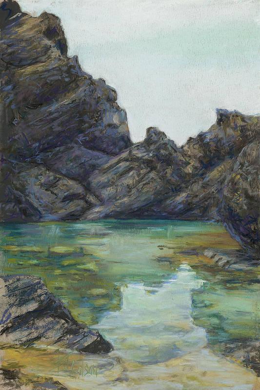 Saint Croix Art Print featuring the painting Saint Croix by Billie Colson