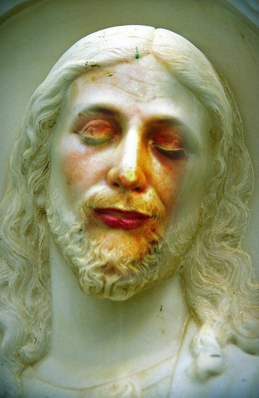 Jesus Art Print featuring the photograph Shesus by Skip Hunt