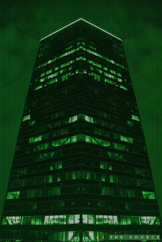 Matrix Art Print featuring the photograph The Source by Jonathan Ellis Keys