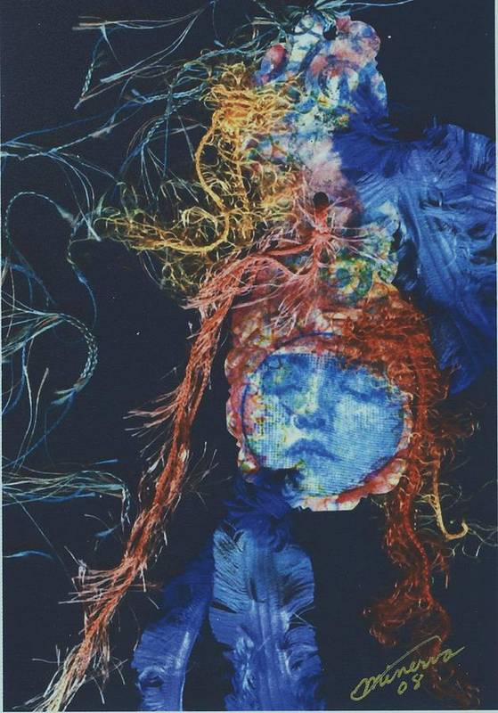 Dream Art Print featuring the mixed media To Sleep is to Dream by Cathy Minerva
