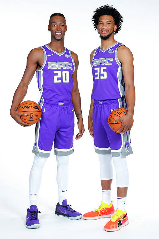 Media Day Art Print featuring the photograph 2018-19 Sacramento Kings Media Day by Rocky Widner