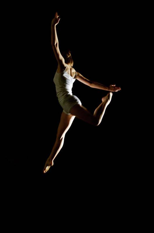 Ballet Dancer Art Print featuring the photograph Ballet And Contemporary Dancers by John Rensten