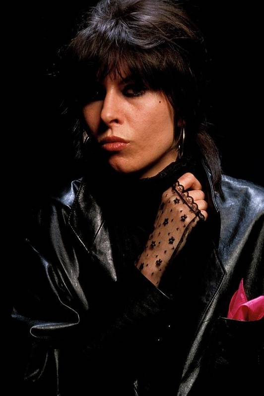 Music Art Print featuring the photograph Photo Of Chrissie Hynde And Pretenders by Fin Costello