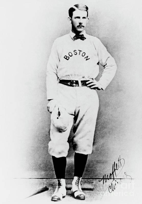 American League Baseball Art Print featuring the photograph National Baseball Hall Of Fame Library by National Baseball Hall Of Fame Library