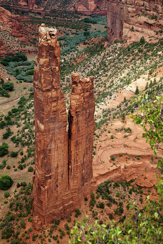 Scenics Art Print featuring the photograph Canyon De Chelly by Win-initiative