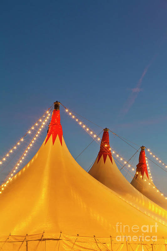 Circus Tent Art Print featuring the photograph Germany, Baden Wuerttemberg, Stuttgart by Westend61