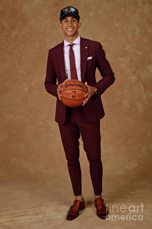 Nba Pro Basketball Art Print featuring the photograph 2017 Nba Draft by Jennifer Pottheiser