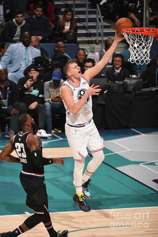 Nba Pro Basketball Art Print featuring the photograph 2019 Nba All-star Game by Garrett Ellwood