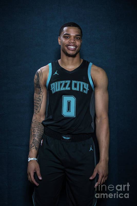 Nba Pro Basketball Art Print featuring the photograph 2019 Nba All-star Portraits by Michael J. Lebrecht Ii