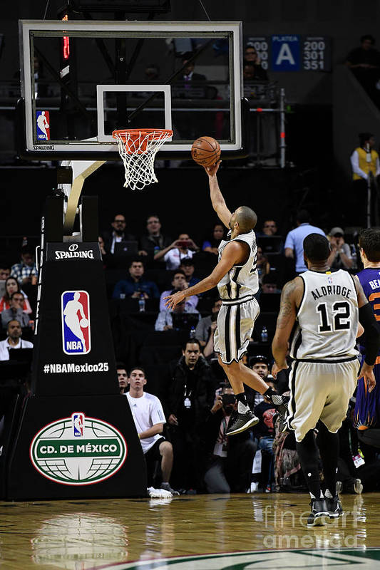 Event Art Print featuring the photograph 2017 Nba Global Games - San Antonio by David Dow