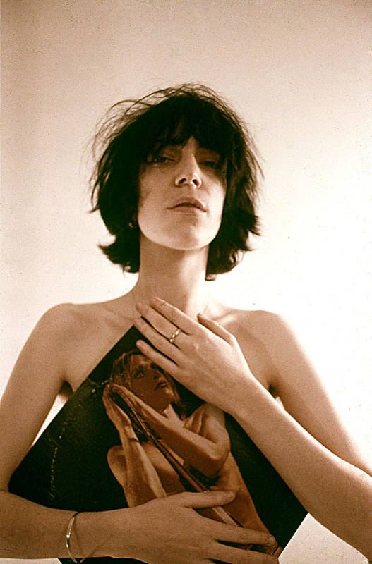 Event Art Print featuring the photograph Patti Smith Portrait Session by Michael Ochs Archives