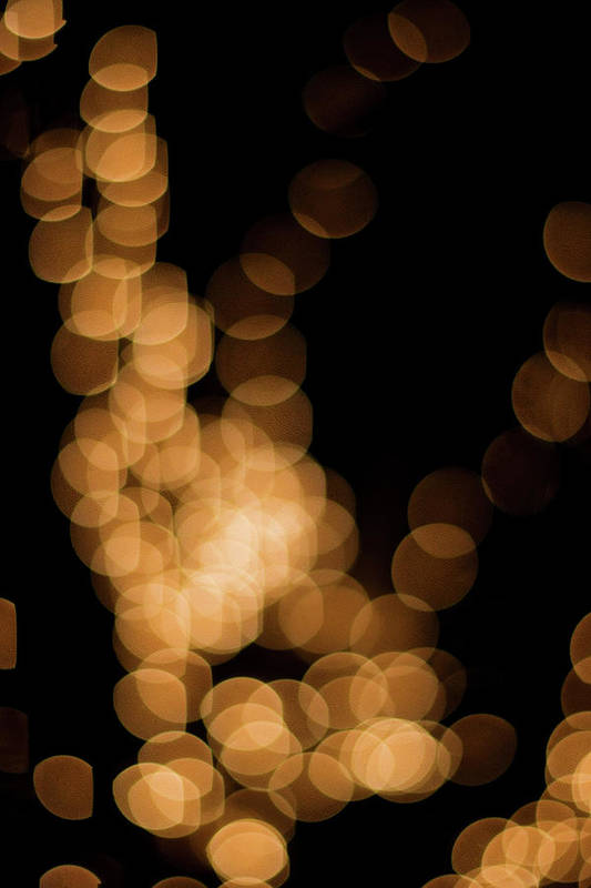 Funky Art Print featuring the photograph Abstract Lights by Miss pj
