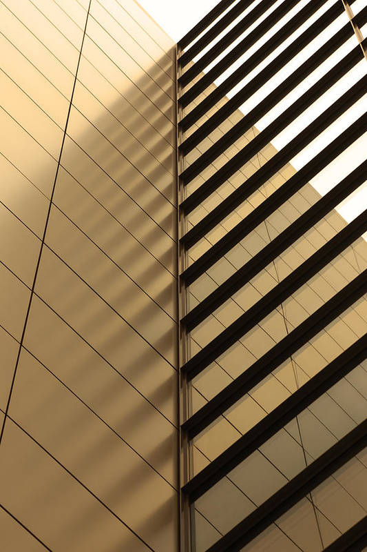 Architectural Feature Art Print featuring the photograph Architecture Reflection by Tomasz Pietryszek