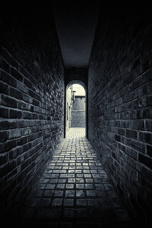 Horror Art Print featuring the photograph Dark Alley by Duncan1890