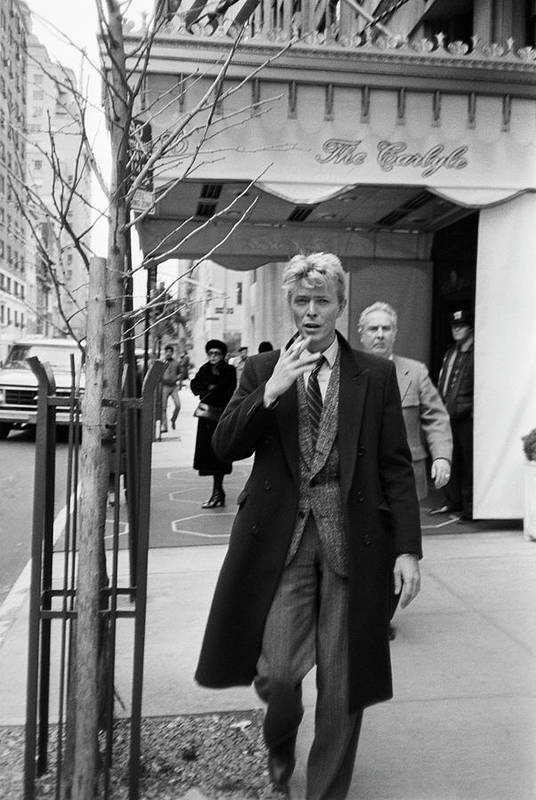 1980-1989 Art Print featuring the photograph David Bowie by Art Zelin