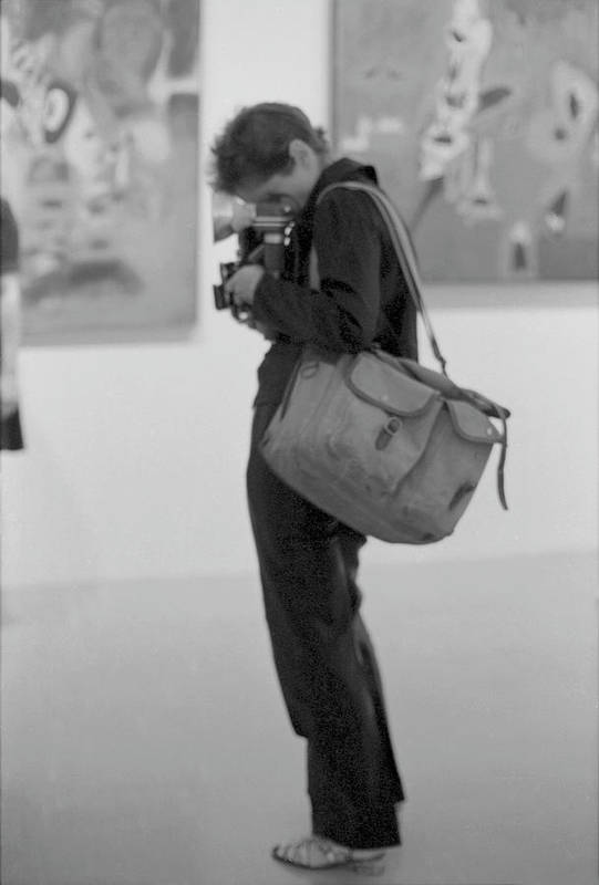 Diane Arbus Art Print featuring the photograph Diane Arbus At The Whitney by Fred W. McDarrah