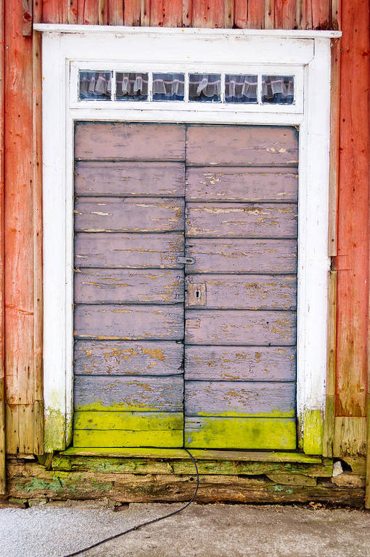 Hinge Art Print featuring the photograph Doorway by Reimphoto