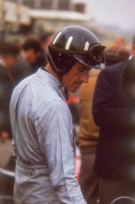 Crash Helmet Art Print featuring the photograph Graham Hill, Dutch Grand Prix by Heritage Images