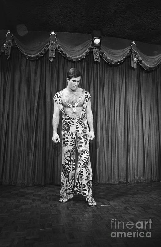 People Art Print featuring the photograph Man Modeling New Fashion by Bettmann