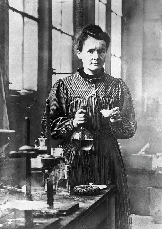 Marie Curie - Physicist Art Print featuring the photograph Marie Curie by Hulton Archive