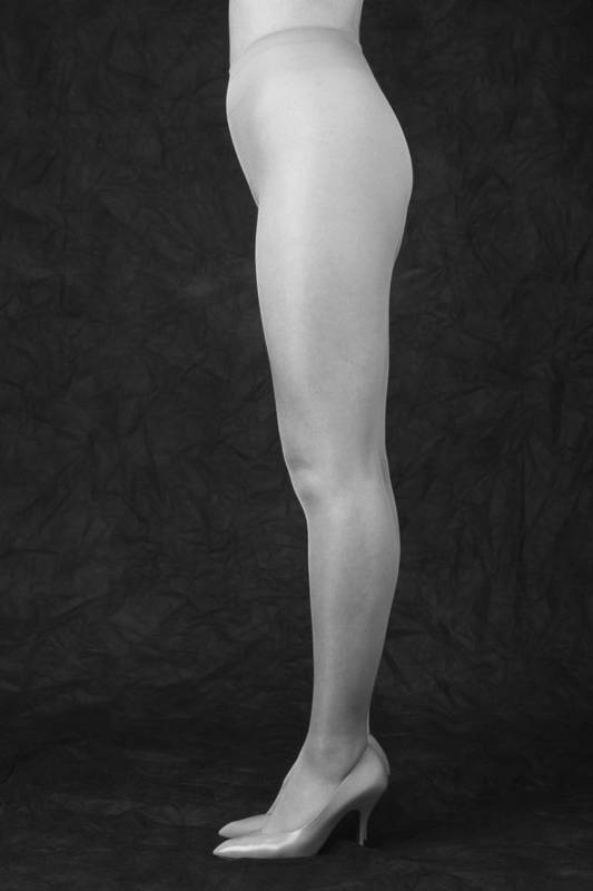 Cool Attitude Art Print featuring the photograph Photography Of Standing Womans Legs by Daj