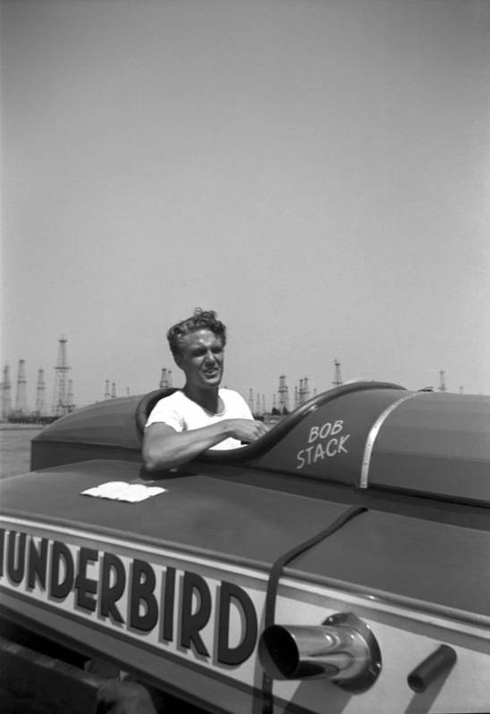 Motorboat Art Print featuring the photograph Robert Stack by Michael Ochs Archives