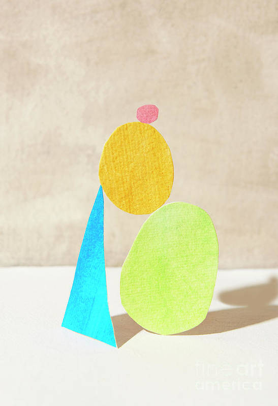 Art Art Print featuring the photograph Shapes Balanced On Each Other by Tara Moore