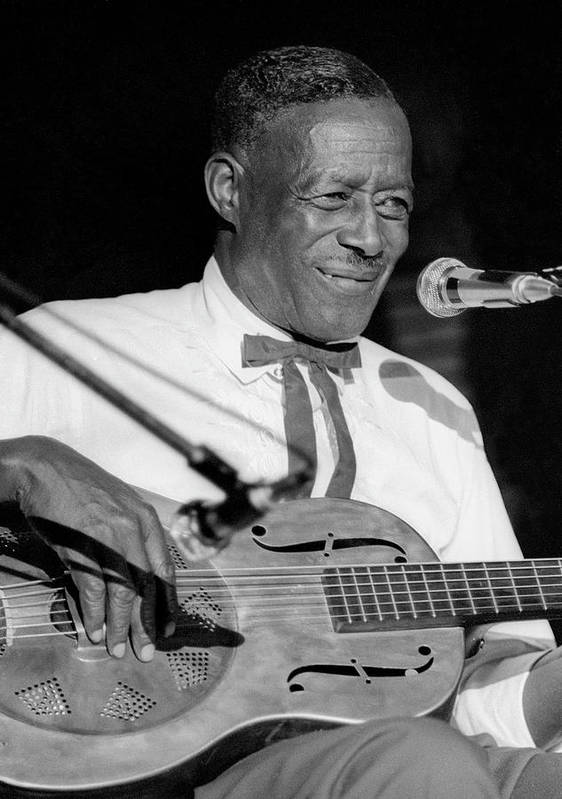 Singer Art Print featuring the photograph Son House In Michigan by Tom Copi