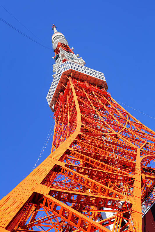 Tokyo Tower Art Print featuring the photograph Tokyo Tower by Ngkaki