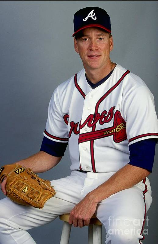 Media Day Art Print featuring the photograph Tom Glavine 47 by Andy Lyons